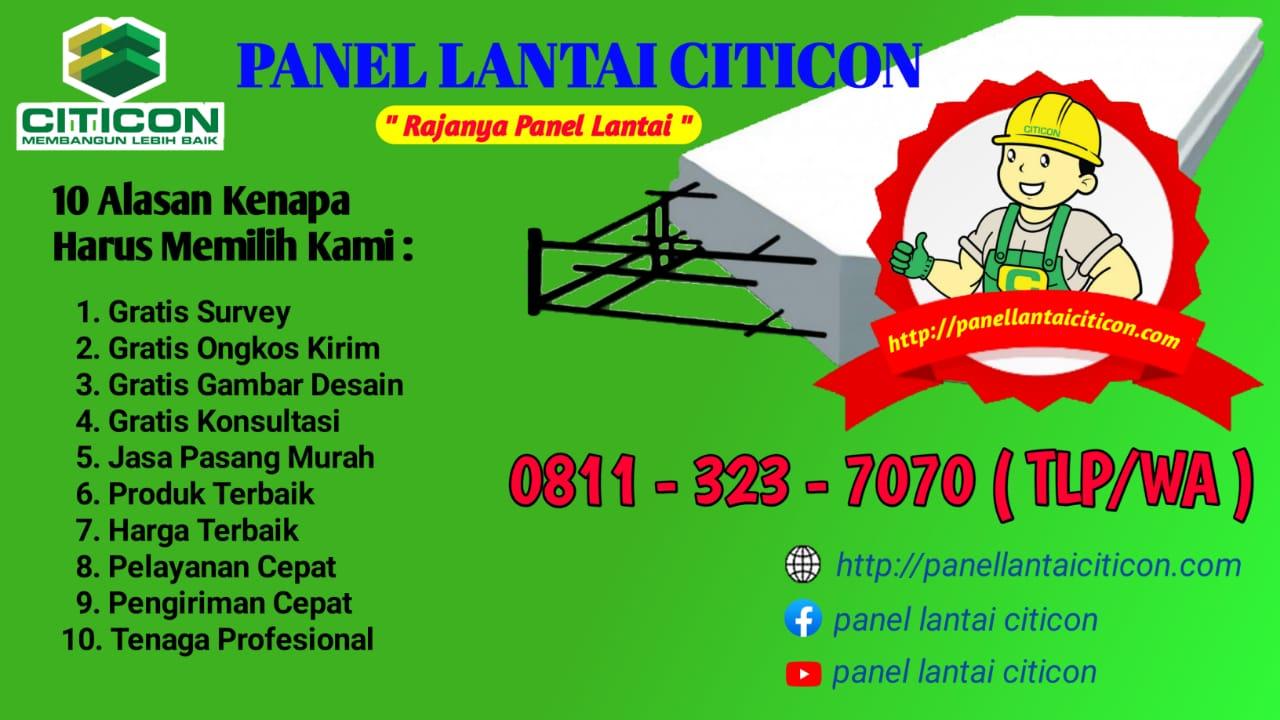 Panel Lantai Citicon Malang